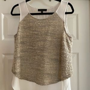 EUC Sanctuary Boucle Layer Shell Top